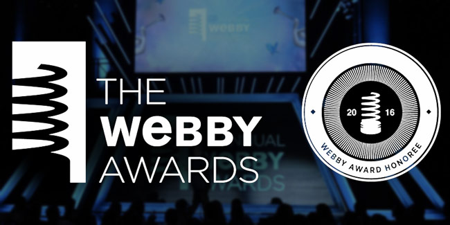 Verona is an official honoree for the 20th annual Webby Awards
